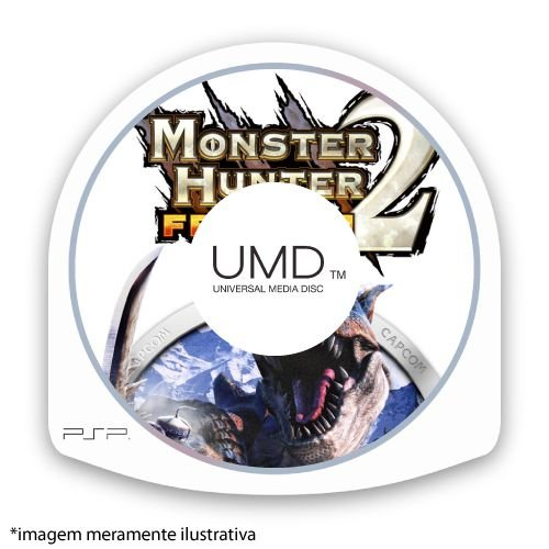 Monster Hunter 2: Freedom (SEM CAPA) Seminovo - PSP