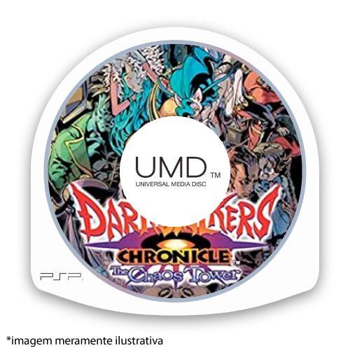 Darkstalkers Chronicle: The Chaos Tower (SEM CAPA) Seminovo - PSP