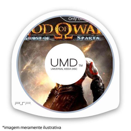 God of War: Ghost of Sparta (SEM CAPA) Europeu Seminovo - PSP