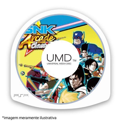 SNK Arcade Classics Vol. 1 (SEM CAPA) Seminovo - PSP