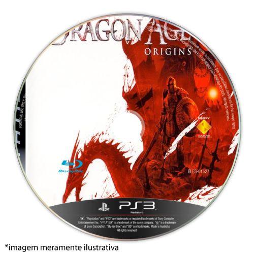 Dragon Age Origins (SEM CAPA) Seminovo - PS3