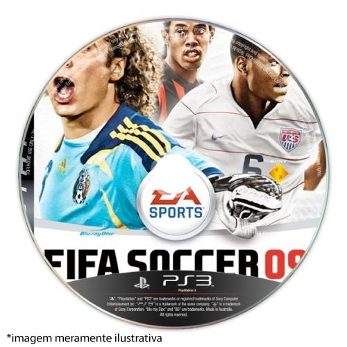 FIFA Soccer 09 (SEM CAPA) Seminovo - PS3