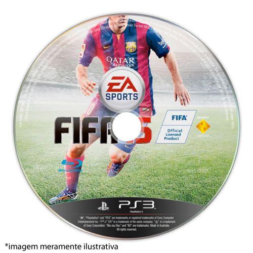 FIFA 15 (SEM CAPA) Seminovo - PS3