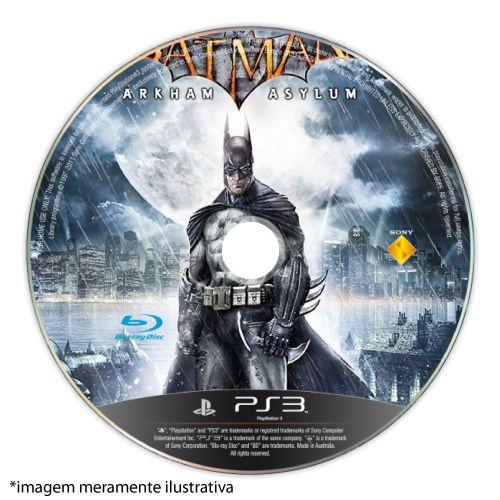 Batman: Arkham Asylum (SEM CAPA) Seminovo - PS3