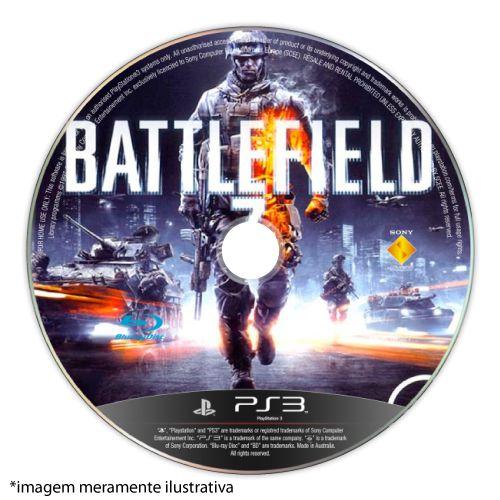 Battlefield 3 (SEM CAPA) Seminovo - PS3