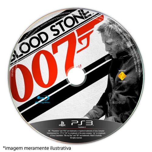 007 Blood Stone (SEM CAPA) Seminovo - PS3