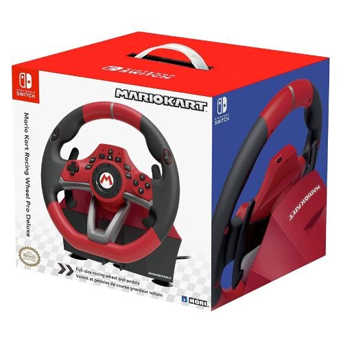 Mario Kart Racing Wheel Pro Deluxe HORI - Nintendo Switch