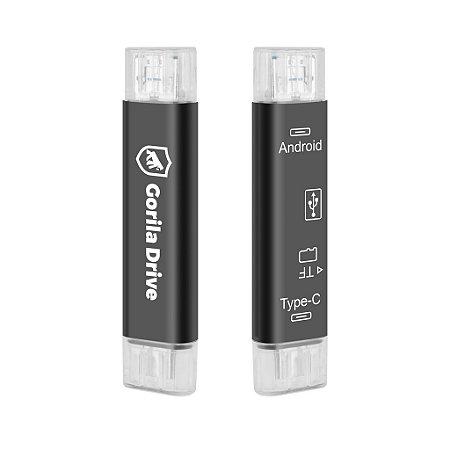 Gorila Drive - Adaptador Otg Micro usb / Tipo c - Gshield