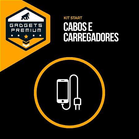Kit Start Cabos e Carregadores - Gshield