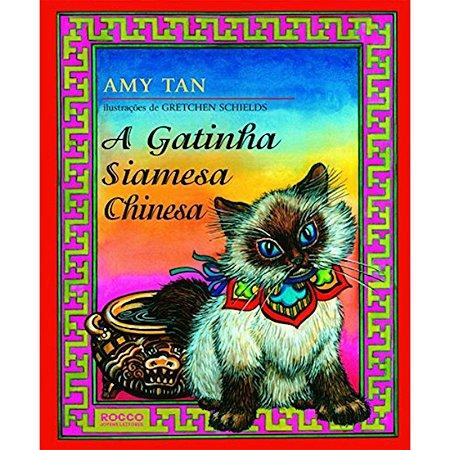 A gatinha siamesa chinesa