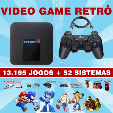VÍDEO GAME - RETRO GAME BOX 13.165 JOGOS
