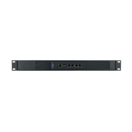 Appliance Firewall - B2316-4L Rack - Intel Celeron J1900 quad-core, Fanless, 4 Rede RJ45 Intel GbE e 1 Console RJ45 Serial