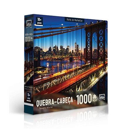 QUEBRA-CABEÇA PAISAGENS NOTURNAS 1000 PEÇAS