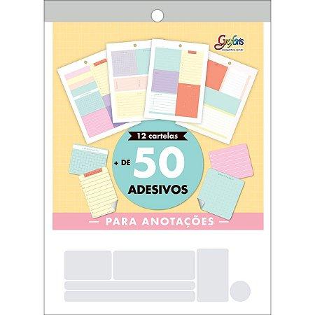 BLOCO DE ADESIVOS NOTES GRAFON'S TILIBRA