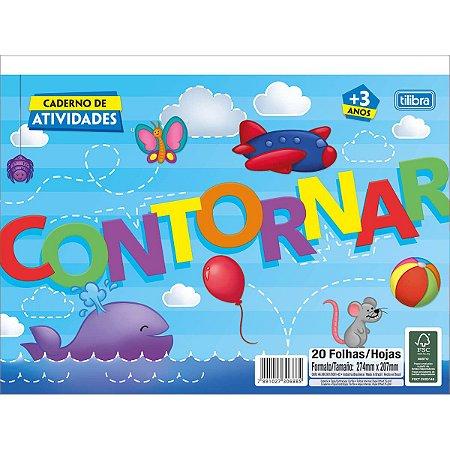 LIVRO INFANTIL CAD 20F ATIV CONTORNO 306380 TILIBRA