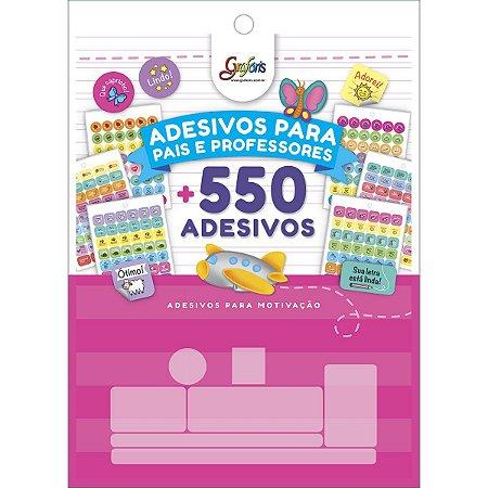 BLOCO DE ADESIVOS DECORADOS PARA PROFESSORES GRAFONS TILIBRA