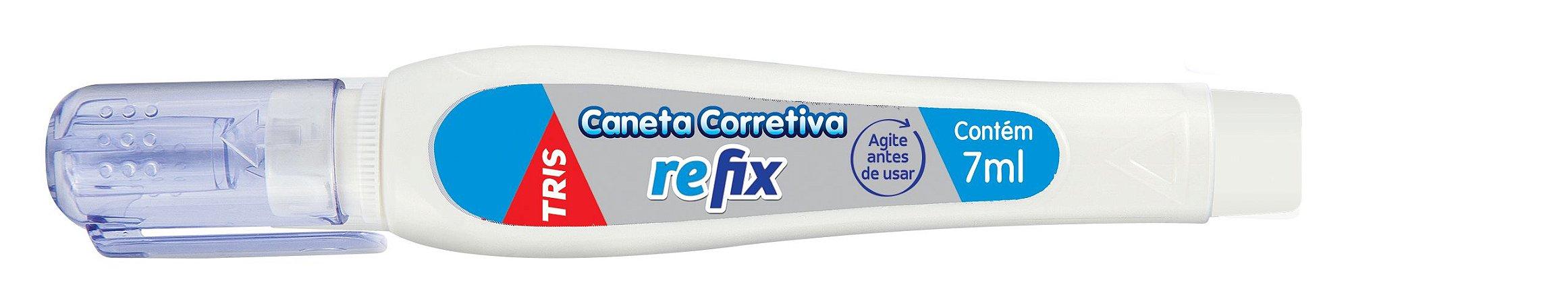 CANETA CORRETIVA REFIX 7ML TRIS
