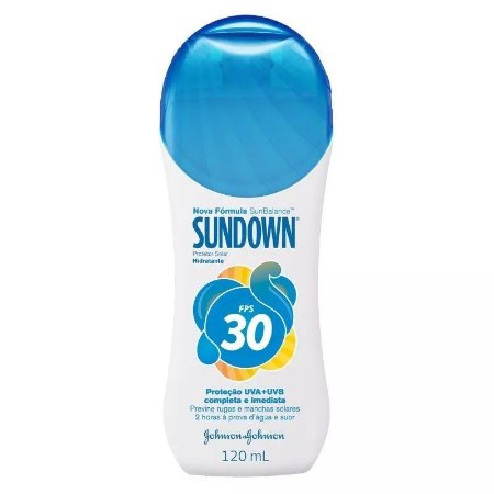 Protetor Solar Sundown PFS 30 120ml