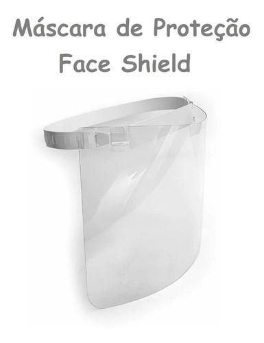 Máscara De Proteção Facial Face Shield Protec 19