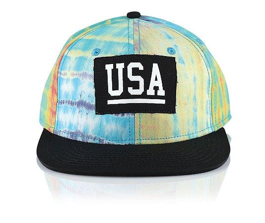 Boné Official USA BLK Dye