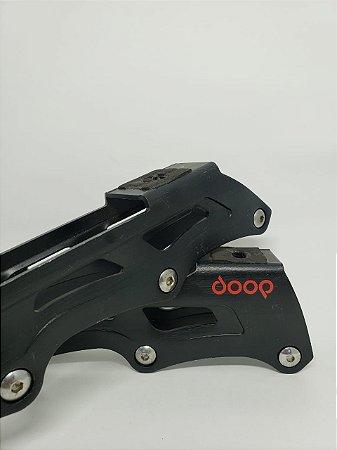 BASE POWERSLIDE DOOP 4X84MM - PRETA