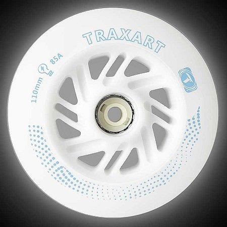 RODA TRAXART LED 110MM - 2 UND