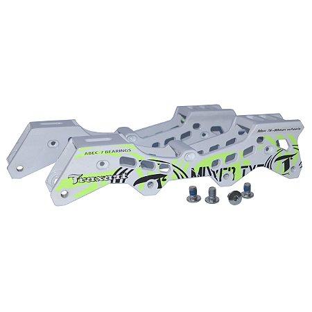 BASE TRAXART MIXXER 4X76MM - BRANCA