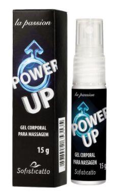 Power Up Gel Masculino Prolongador de Ereção 15g
