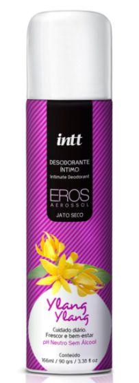 Desodorante Corporal Eros Jato Seco aerosol Ylang Ylang 100ml