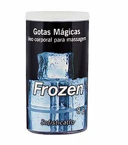 Óleo corporal para massagem Gotas Mágicas Frozen