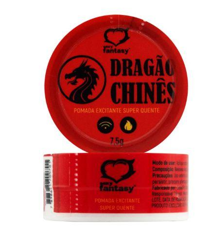Pomada Excitante Unissex Dragão Chinês