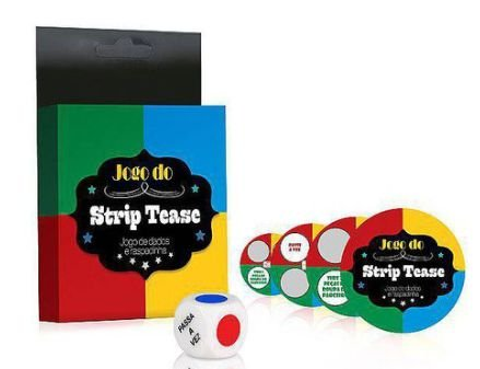 JOGO STRIP TEASE - JOGO DE DADOS COM RAPADINHA