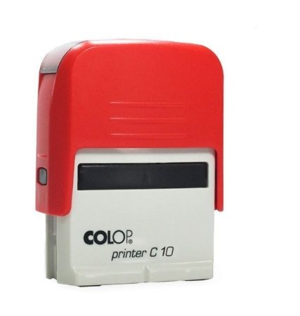 Carimbo Automático Printer C10 - Vermelho