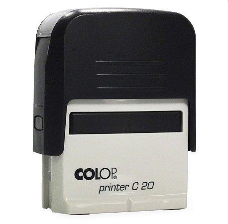 Carimbo Automático Printer C20 - Preto