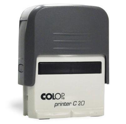 Carimbo Automático Printer C20 - Cinza