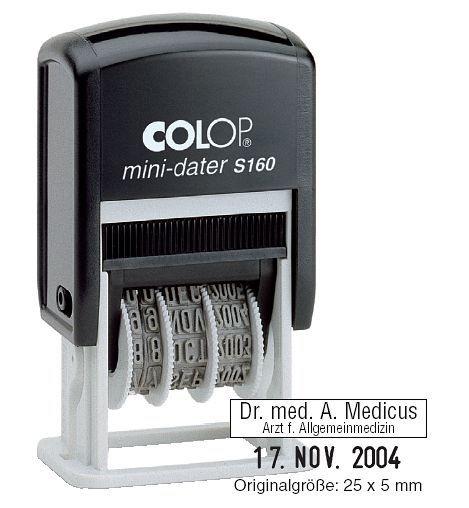 Carimbo Datador Mini-Dater s160