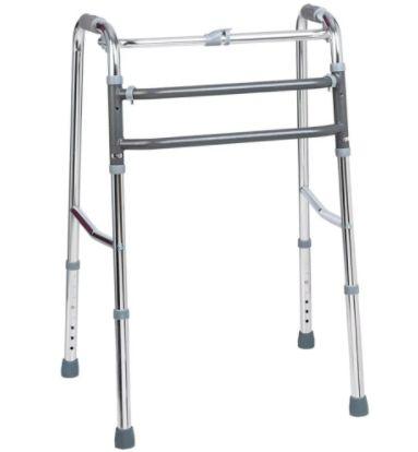Andador para Adulto 2 em 1 Articulado e Fixo - Aluminio