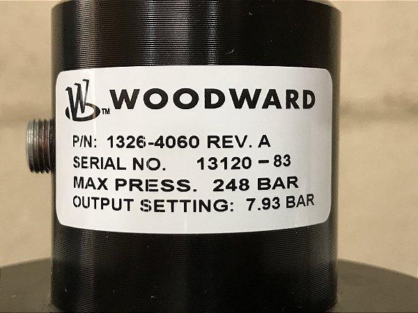 Regulador de pressão gás natural PN 1326-4060 (Novo) marca Woodward