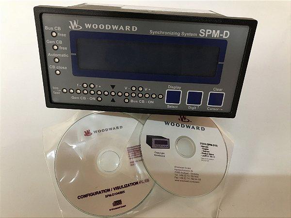 Controlador - Sincronizador SPM-D1040 PN 8440-1301 (Novo) marca Woodward