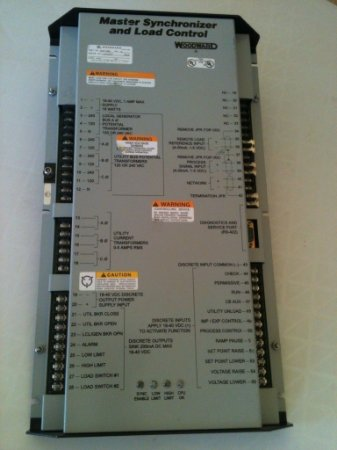 Woodward MSLC - Master Synchronizer and Load Control Part N: 9907-004