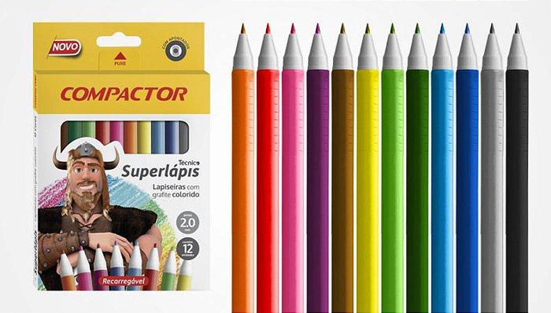 Superlápis Técnico - Lapiseiras Coloridas