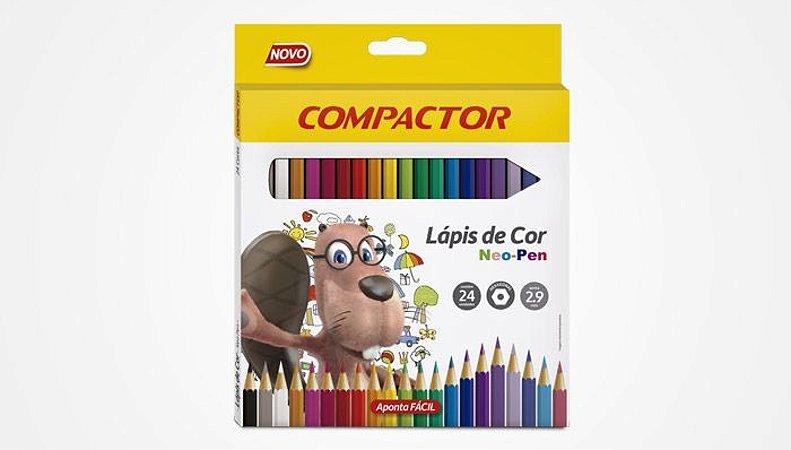 Lápis de Cor Neo-Pen 24 cores