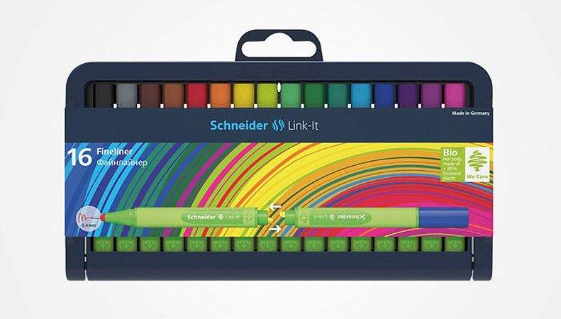 ESTOJO SCHNEIDER LINK-IT 0.4 mm 16 CORES
