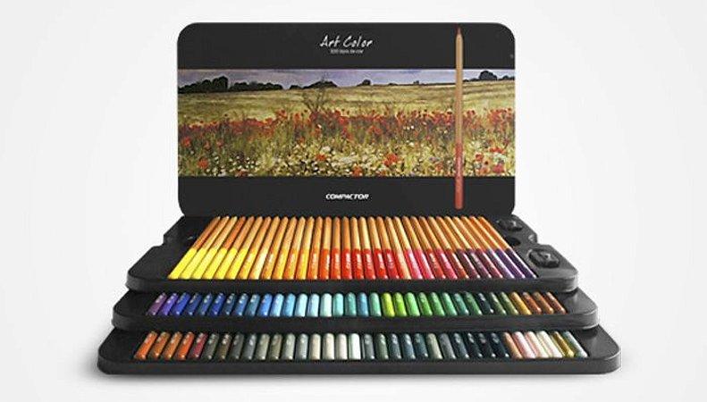 Art Color - Lápis de Cor 100 cores