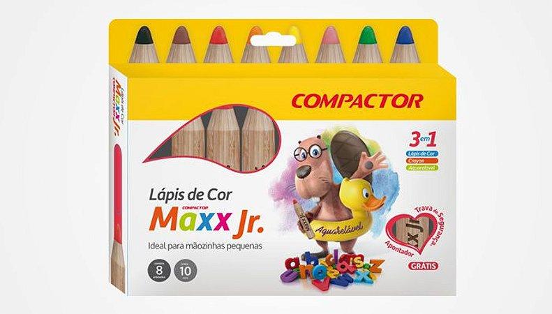 LÁPIS DE COR MAXX JR.