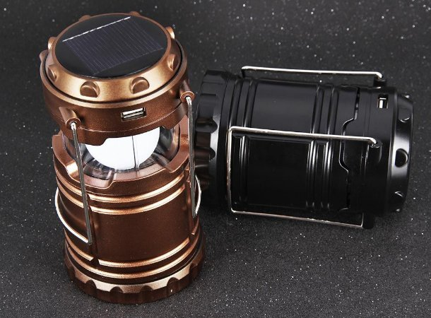 Lanterna de camping de 6 LED recarregável - LL-5800T