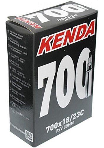 Camara de Ar Kenda 700x23 Bico Longo Presta 80mm Speed, Triathlon Ref.124
