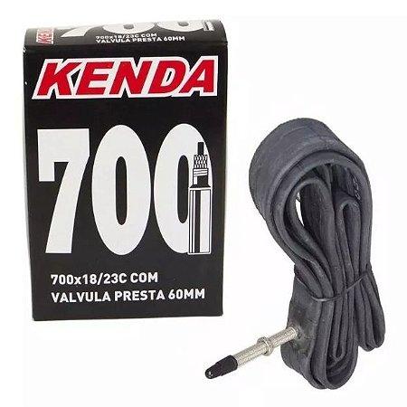 Camara de Ar Kenda 700x23 Bico Longo Presta 60mm Speed, Triathlon Ref.034