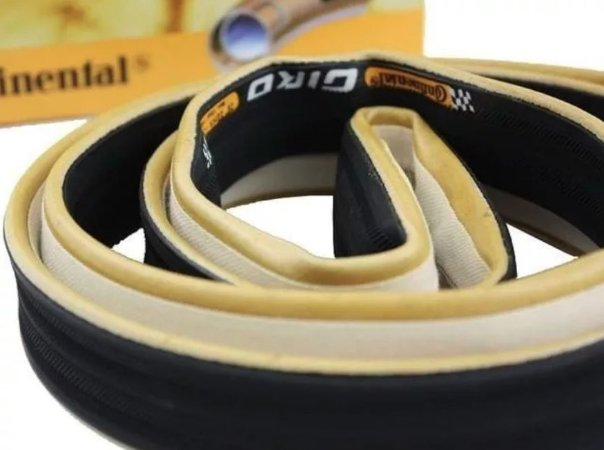 1 unidade Pneu Continental Tubular Giro 22mm + Brinde Triathlon, Speed, TT Ref.141