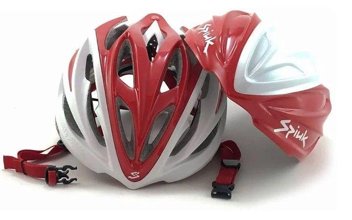 Capacete 2em1 Spiuk Dharma p/ Ciclismo Speed MTB Triathlon Ref.047